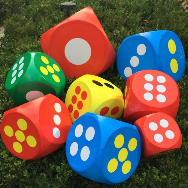 大骰子活動游戲道具大色子