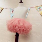 女童紗裙半身裙秋1--7歲新款兒童網紗舞蹈裙春夏寶寶蓬 洛小仙女鞋