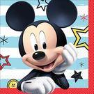 迪士尼 餐具 紙巾16入-米奇很忙