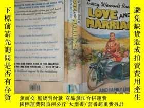 二手書博民逛書店Every罕見Womans Book of Love and Marriage and Family Life【6