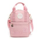 PLAYBOY- 後背包可肩背 California Bunny系列 -粉色