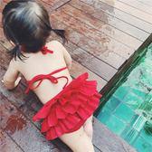 女寶寶泳衣夏裝嬰幼兒性感兒童比基尼裙式女