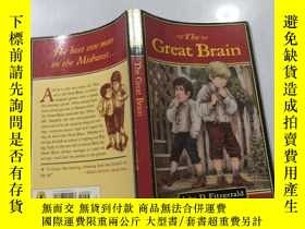 二手書博民逛書店The罕見Great Brain 偉大的大腦Y200392