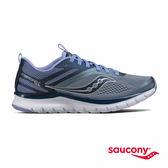 SAUCONY LITEFORM MILES 輕運動休閒鞋款-灰x深藍x藍紫