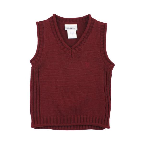 【愛的世界】輕盈混羊毛背心毛衣/10~12歲-台灣製- ★秋冬上著