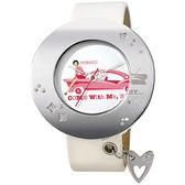 FIORUCCI O系列甜蜜跑車時尚腕錶(白)