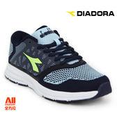 【Diadora 迪亞多那】女款 休閒運動鞋-編織藍(D6696) 全方位跑步概念館