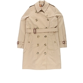 【BURBERRY】The Mid-length Kensington Heritage Trench Coat 6/8/10號(駝色) 80279231