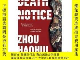 二手書博民逛書店Death罕見Notice 死亡通告Y21066 unknow unknow ISBN:97805254359