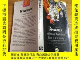 二手書博民逛書店Everyman罕見and Medieval Miracle Plays(英文原版,1959年版)Y35419