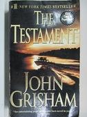 【書寶二手書T9/原文小說_ANP】The Testament_John Grisham