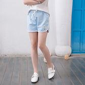 純色滾邊運動短褲  女童裝棉褲  SL628 好娃娃
