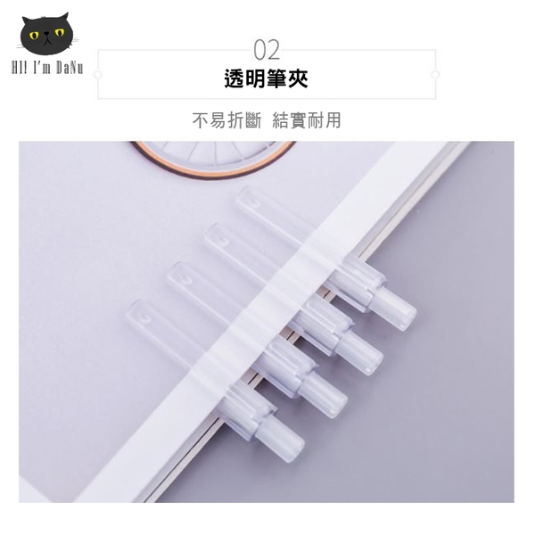 無印風格 鉛筆 六角自動鉛筆 文具 無印風 極簡半透明筆桿 自動筆 按壓式0.5mm筆自動鉛筆【Z201102】