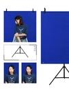 加厚1.5*1米證件照背景布攝影無紡拍照背景布