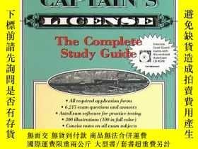 二手書博民逛書店Get罕見Your Captains License-拿到你的船長執照Y443421 Charles Wing