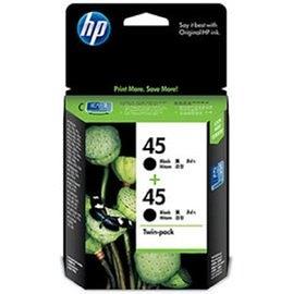 CC625AA HP 45 原廠黑色墨水匣(雙包裝) (51645AA*2) 適用 DeskJet 710c/720c/830c/870c/880c/890c/895cxi/930c