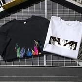 男士T恤 潮牌大碼男士短袖t恤棉質上衣圓領潮牌半袖衣服潮流 【免運86折】
