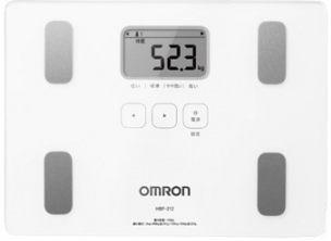 體脂計 OMRON歐姆龍體重體脂計HBF-212(白色)
