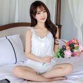 蕾絲性感冰絲甜美韓版睡裙-艾尚精品 艾尚精品