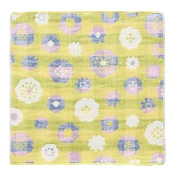 【日本製】【Pocchi】今治毛巾 Imabari Towel 三層紗布 手帕 blossom SD-2172 - 日本製
