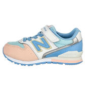 New Balance 中童鞋 白 粉紅 粉藍 男女童鞋 兒童復古跑鞋 寬楦 慢跑鞋 NB 996 KV996PWY