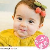 超Q手工羊毛氈櫻桃造型髮夾 寶寶髮飾