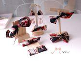 蜜諾菈Minerva‧現貨‧個性時尚黑紅系列飾品套裝禮盒組‧編號00351
