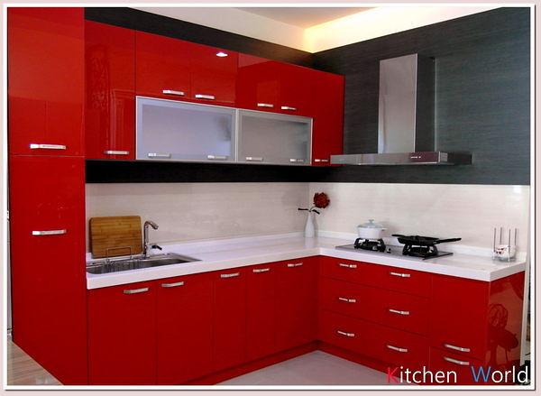 ❤PK廚浴生活館 實體店面❤高雄 廚房歐化系統櫥具 上下櫃L型人造石檯面流理台