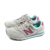 NEW BALANCE 996系列 運動鞋 復古鞋 女鞋 米白/粉 WL996WE-B 窄楦 no827