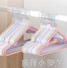 兒童衣架子小衣架嬰幼兒家用小孩防滑家用晾掛衣服寶寶嬰兒曬衣架 蘿莉小腳丫