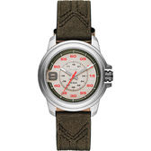 DIESEL SPROCKET 率性時尚腕錶/手錶-灰x墨綠42mm DZ1740