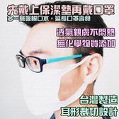 口罩保潔墊耳掛 100片/包 口罩墊片 口罩拋棄式內襯墊 台灣製造 MIT 水針水織布 口罩套 防護墊