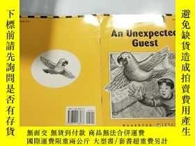 二手書博民逛書店an罕見unexpected guest:不速之客:Y200392