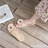 2021年夏季新款百搭ins潮平底羅馬女鞋仙女風學生女士爆款涼鞋女 創意家居生活館