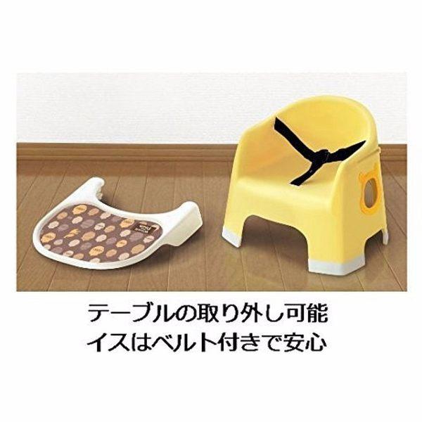 【震撼精品百貨】Winnie the Pooh 小熊維尼~幼兒用餐椅(黃)
