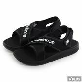 New Balance  女 黑白 休閒涼鞋 - YO650AA