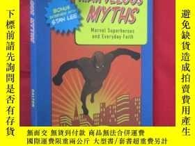 二手書博民逛書店MARVELOUS罕見MYTHS:Marvel Superoes