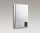 【麗室衛浴】美國 KOHLER VERDERA 多功能鏡櫃 K-26388T-L-NA (50cm)