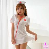 睡衣 性感睡衣 角色扮演白衣天使純情亮面三件式cosplay 護士角色服【星光密碼】H016