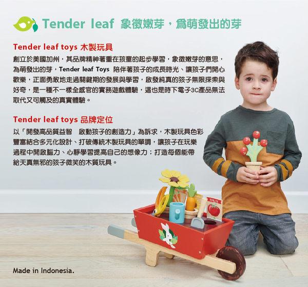 【美國Tender Leaf Toys】黃橙夏日購物車(市場系列-助步推車)