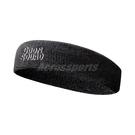 Nike 頭帶 Swoosh SJ2 GS Headband 黑 白 男女款 怪物奇兵 2 棉 毛巾布 髮帶 【ACS】 N100417900-1OS