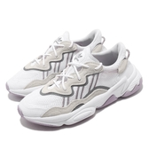 adidas 休閒鞋 Ozweego 白 灰 紫 女鞋 反光 運動鞋 老爹鞋 【PUMP306】 EE7012