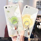 手機殼蘋果6splus手機殼iphone6夏天散熱6plus玻璃6sins   萌萌小寵