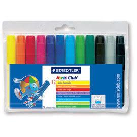 施德樓 MS340WP12 快樂學園 加寬型環保彩繪筆12入 / 組