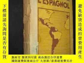 二手書博民逛書店INITIATION罕見A L ESPAGNOL 西班牙語翻譯簡介 33年精裝 書脊破損 32開精裝Y6713