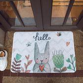木暉地墊門墊進門家用入戶臥室門口廚房腳墊衛浴防滑絲圈墊子地毯igo   良品鋪子