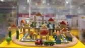 班恩傑尼創意積木動物火車