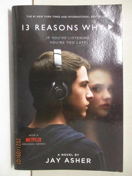 【書寶二手書T1/原文小說_BU4】13 Reasons Why_Jay Asher