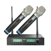 MIPRO ACT-312B / ACT-32H*2 半U 2CH 模組化自動選訊無線麥克風系統(新系統)
