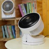 循環扇 空氣循環扇渦輪對流電風扇家用靜音桌面小型台式 igo 玩趣3C